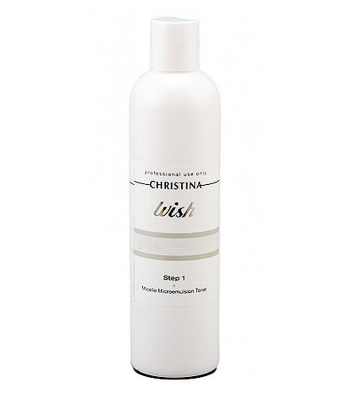 Micelle Microemulsion Toner - Step 1 - Wish - Christina - 300 ml