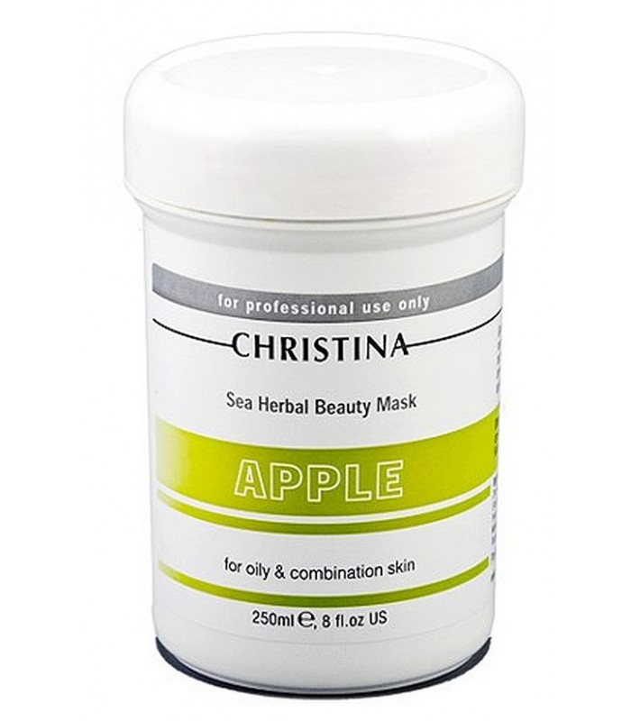 Apple Mask - for oily and combination skin - Serie Masks - Christina - 250 ml