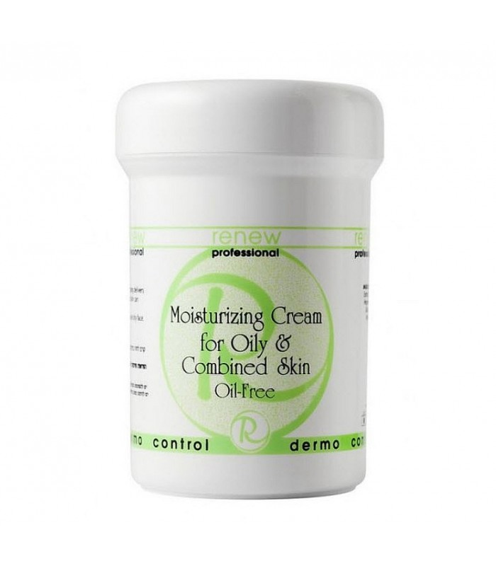 Moisturizing Cream - for oily&combination Skin - Oil-Free - Dermo Control - Renew - 250 ml