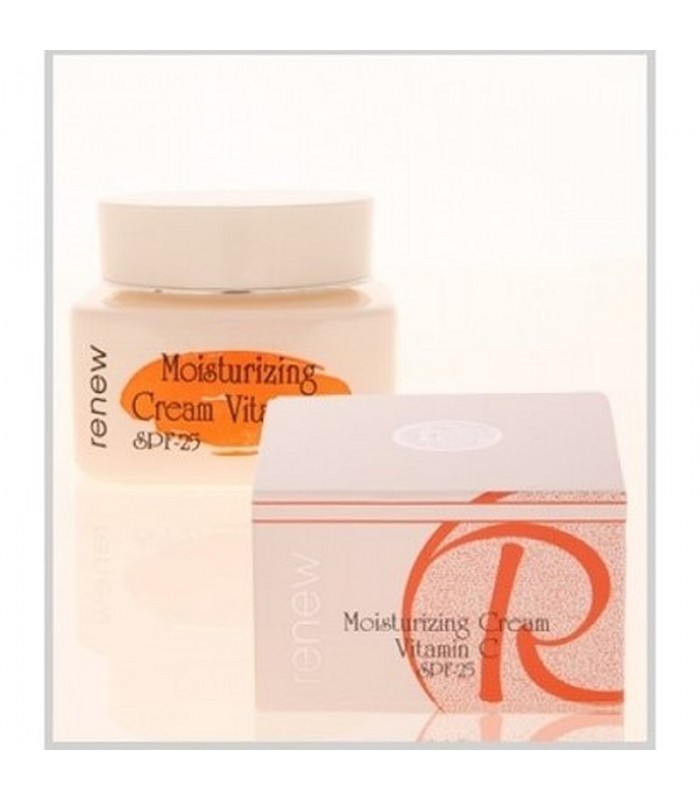 Moisturizing Cream Vitamin C - SPF-25 - Gels - Creams - Renew - 250 ml